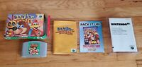 Banjo-Tooie Nintendo 64 N64 Video Game Complete CIB Manual Box Lot AUTHENTIC !!!