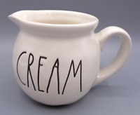 Rae Dunn CREAM Pitcher Artisan Collection by Magenta Coffee Creamer