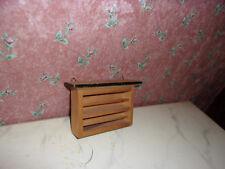 Antiguo estante-cocina-tienda de juguetes-casa de muñecas-muñecas Tube - 1:12+1:18