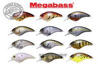 Megabass Sonicside Crankbait Flatside Silent JDM 2.6in 1/2oz - Pick