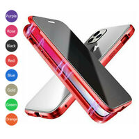 360° Tempered Glass Magnetic Phone Case for IPhone 11 Max Pro XR X 6 6s 7 8 Plus