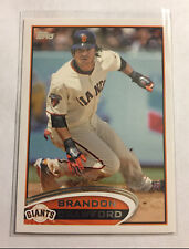 2012 Topps Brandon Crawford #649 Giants