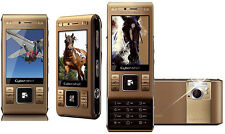 Sony Ericsson CyberShot C905 GOLD (Ohne Simlock) 3G WLAN 8MP FLASH GPS SEHR GUT