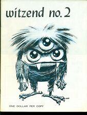 WITZEND Fanzine #2, 1967, WALLY WOOD Cover and Art, FRAZETTA VF+