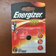 Energizer 1220 CR1220 3V Lithium Coin Cell Battery DL1220,BR1220 LONGEST  EXPIRY 7b43c5ab406c