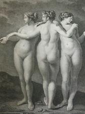 P.CARAVAGE / LES TROIS GRACES  1862