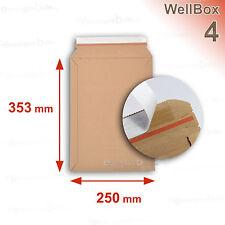 100 Enveloppes carton rigide renforcé 250x353 Wellbox 4