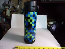 "Pottery Barn  Pixels 17 Fl. Oz. Insulated Water Bottle ""RVB"""