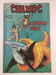 MEXICAN SPANISH COMICS CHANOC #1078 AVENTURAS DE MAR Y SELVA PH NOVEDADES MEXICO