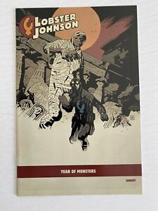 Lobster Johnson The Burning Hand #1 Mike Mignola YEAR OF MONSTERS variant