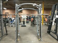 Hoist Smith Machine commercial silver preowned strength gym equipment