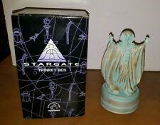 STARGATE 1994 APPLAUSE RA TRINKET BOX W/ ORIGINAL BOX