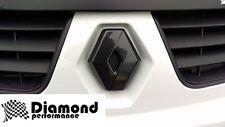 RENAULT master 3 2010-2014 effet fibre de carbone capot avant Grille Badge
