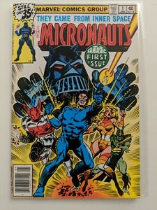 Micronauts #1, Marvel, by Bill Mantlo & Michael Golden, Cover by Dave Cockrum