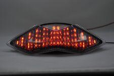 LED Feu arrière fumé clignotant intégré tail light Kawasaki 2011-2013 Z1000,
