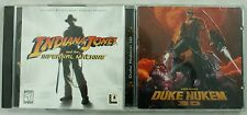 Vintage Indiana Jones Infernal Machine Duke Nukem 3D User Guide PC Game Lot