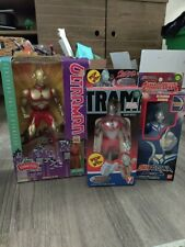 Ultraman action figures Lot of 3 toys from Japan Japanese vintage