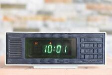 Elektronika 7 VFD Digital Wecker funktioniert alarm clock working RARE Vintage