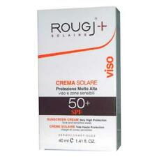 Rougj Attiva Bronz Crema Solare SPF 50+ per Viso e Zone Sensibili - 40 ml