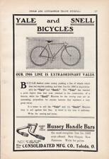 1906 Yale & Snell Bike Bicycle Ad / Toledo OH