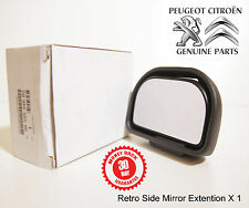 Peugeot Partner Expert 5008 Extra Side Rear View Mirror Extension Genuine New