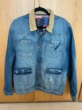 SoulCal Denim Jacket Men's Large with Corduroy Collar