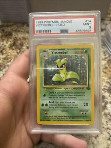 1999 Pokemon Jungle Victreebel 14 Holo Card PSA 9 Mint