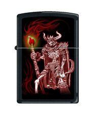 Zippo 216 Grim Reaper with Sickle & Torch Barrett Smythe Collection Lighter RARE