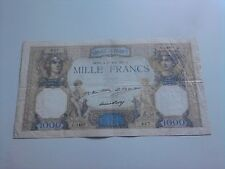 billet 1000 francs ceres et mercure