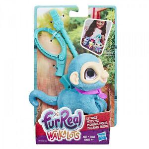 FurReal Walkalots Lil Wags Blue Monkey