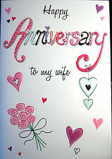 Happy Anniversary - To My Wife Card by Eclipse Cards. 15 Available.