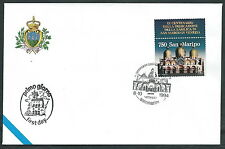 1994 SAN MARINO FDC BASILICA SAN MARCO CONGIUNTA ITALIA NO TIMBRO ARRIVO  RD13-2