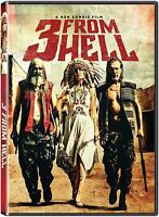 3 FROM HELL DVD Haig / Rob Zombie / Moseley DVD NR DVD FREE SHIP NEW preorder