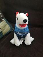 Target Dog Vintage NFL Player Plush Stuffed Animal Toy Bullseye A4 Minnesota