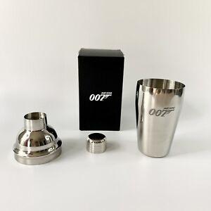 Cocktail Shaker Stainless Steel 007 James Bond