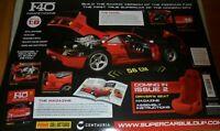 Build Your Own Ferrari F40 Supercar Issue 9 Panini Collection Centauria 56cm 1:8