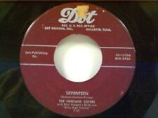"FONTANE SISTERS ""SEVENTEEN / IF I COULD BE WITH YOU"" 45"