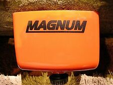 "STIHL MATTE BLACK CUSTOM ""MAGNUM "" STICKER / LETTERING CHAINSAW I.D. great fit!!"