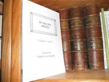 Alabama Notes Vol 1 And 2 New Genealogy Book