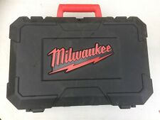 MILWAUKEE C12 PC 12V COMPACT Pipe Cutter Case & 12v Charger