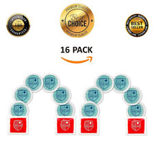 16 Pcs Reusable Gel Ice Packs Hot Cold Therapy Packs Microwavable Heating