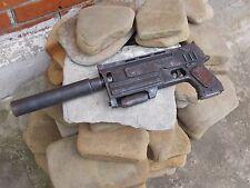 Radioactive fallout Gun 10 mm rusty pistol 3 silencer post apocalyptic weapon