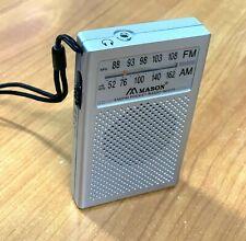 Weltempfänger Radio FM- AM Taschenradio Reiseradio Empfänger R2225
