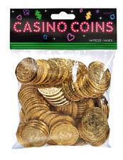 144 x Casino pièces d'or - Jeux de Casino Vegas nuit FREE P&P