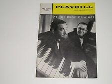 Vintage 1959 Playbill Drop Of A Hat John Golden Theatre Playbills Memorabilia