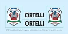 Ortelli Bicycle Decals-Transfers-Stickers #2