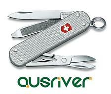 Victorinox Swiss Army Knife 58mm Classic Alox 5 Functions Pocket Tools 0.6221.26