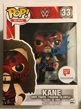 Funko Pop Kane Signed Walgreens Exclusive Pop WWE NXT vinyl Figure Autograph