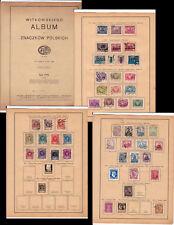 POLAND-1938-ALBUM+KATOLOG ZNACZKOW POLSKICH w.many stamps