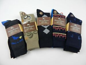 Tommy Bahama Casual Crew Dress Socks 4 Pack One Size Men's